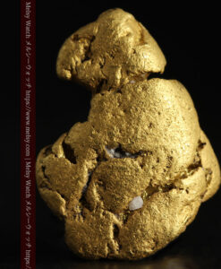 12.71gの濃淡な色合いでしっかりと詰まった自然金-G0479-1