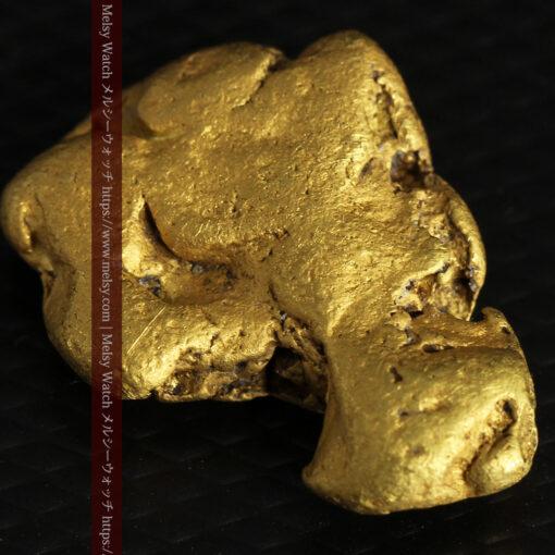 12.71gの濃淡な色合いでしっかりと詰まった自然金-G0479-10