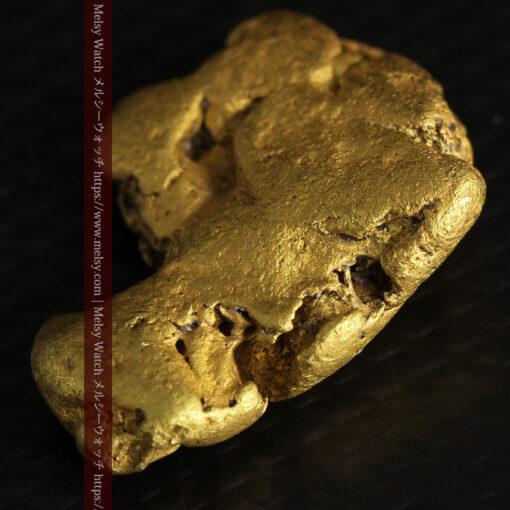 12.71gの濃淡な色合いでしっかりと詰まった自然金-G0479-12