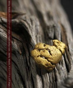 12.71gの濃淡な色合いでしっかりと詰まった自然金-G0479-14