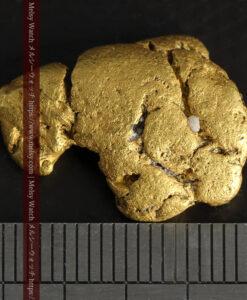 12.71gの濃淡な色合いでしっかりと詰まった自然金-G0479-16