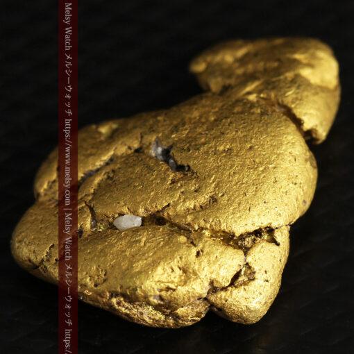 12.71gの濃淡な色合いでしっかりと詰まった自然金-G0479-5