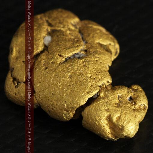 12.71gの濃淡な色合いでしっかりと詰まった自然金-G0479-6