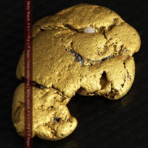12.71gの濃淡な色合いでしっかりと詰まった自然金-G0479-7