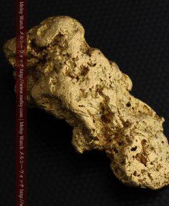 97.3gと超大型の色と形の美しい自然金-g0239-10