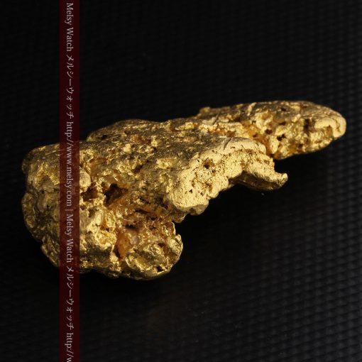 97.3gと超大型の色と形の美しい自然金-g0239-14