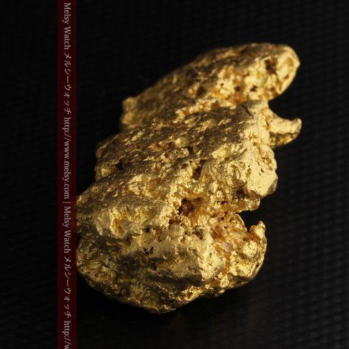 97.3gと超大型の色と形の美しい自然金-g0239-15
