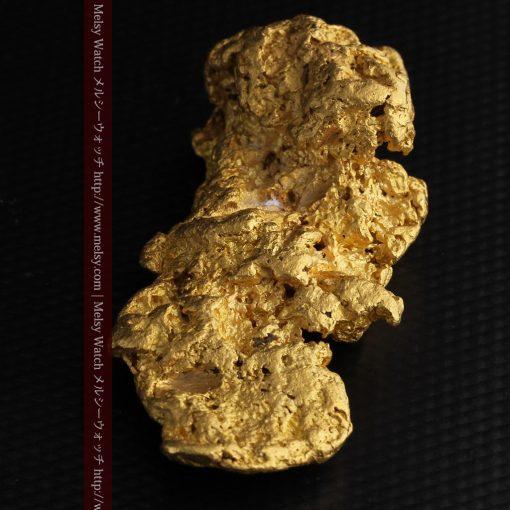 97.3gと超大型の色と形の美しい自然金-g0239-18