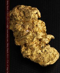 97.3gと超大型の色と形の美しい自然金-g0239-19