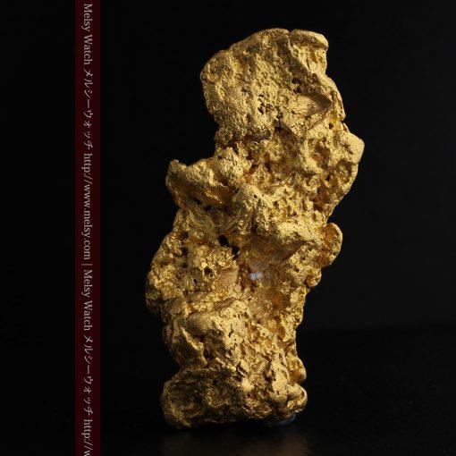 97.3gと超大型の色と形の美しい自然金-g0239-2