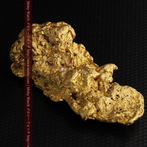 97.3gと超大型の色と形の美しい自然金-g0239-20