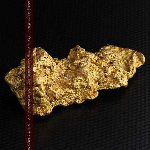 97.3gと超大型の色と形の美しい自然金-g0239-21