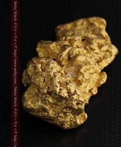 97.3gと超大型の色と形の美しい自然金-g0239-22