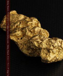 97.3gと超大型の色と形の美しい自然金-g0239-23