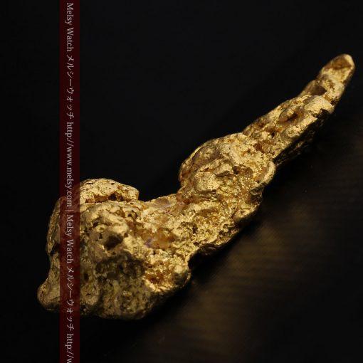 97.3gと超大型の色と形の美しい自然金-g0239-24