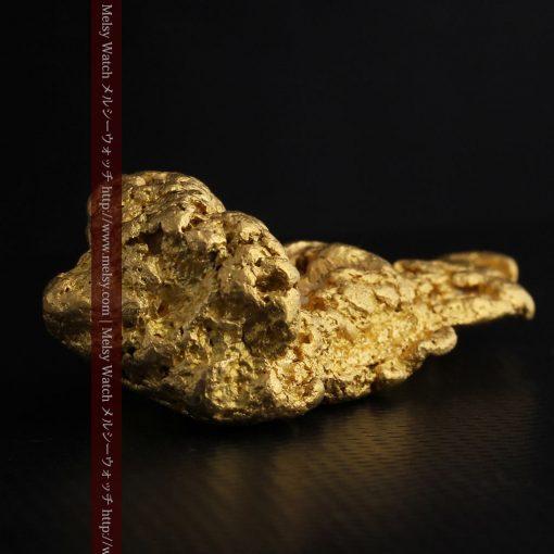97.3gと超大型の色と形の美しい自然金-g0239-25