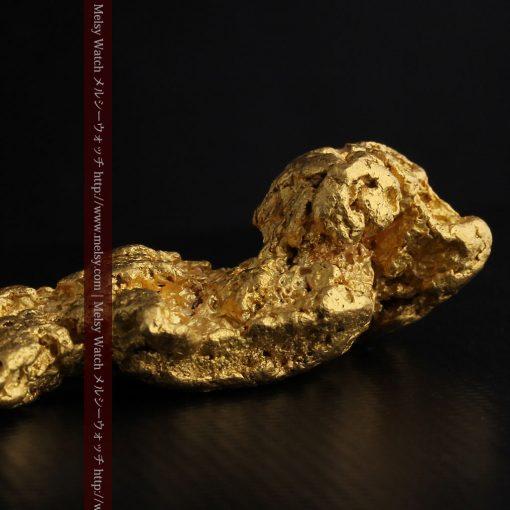 97.3gと超大型の色と形の美しい自然金-g0239-26