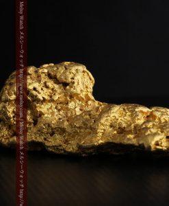 97.3gと超大型の色と形の美しい自然金-g0239-28
