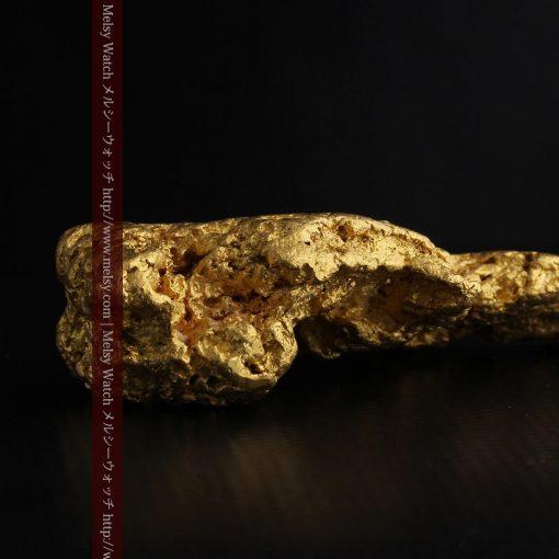 97.3gと超大型の色と形の美しい自然金-g0239-30