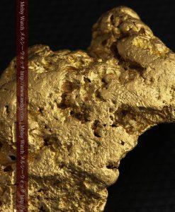 97.3gと超大型の色と形の美しい自然金-g0239-32