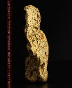 97.3gと超大型の色と形の美しい自然金-g0239-4