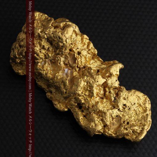 97.3gと超大型の色と形の美しい自然金-g0239-7