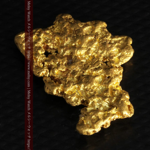 5.51gの戴冠した女王の横顔のような自然金-G0242-12