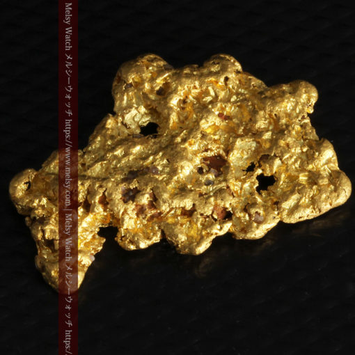 5.51gの戴冠した女王の横顔のような自然金-G0242-7