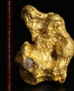 9.89gの自然金らしい丸みと厚みのある自然金-G0243-1