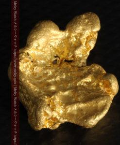 9.89gの自然金らしい丸みと厚みのある自然金-G0243-10
