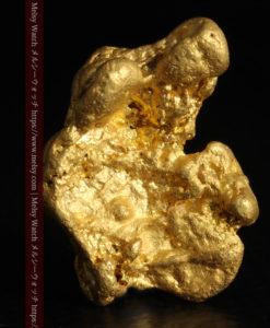 9.89gの自然金らしい丸みと厚みのある自然金-G0243-2