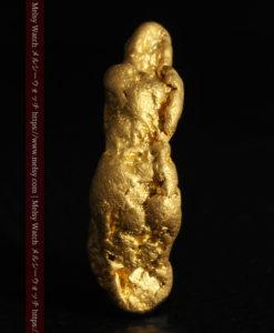 9.89gの自然金らしい丸みと厚みのある自然金-G0243-3