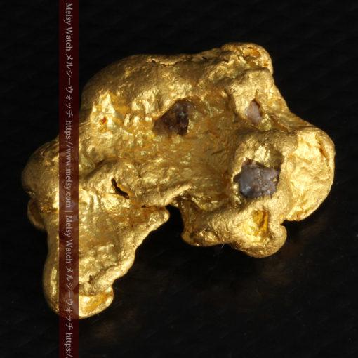 9.89gの自然金らしい丸みと厚みのある自然金-G0243-7