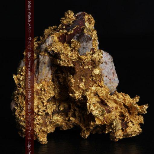 19.66gの石の入り方が綺麗な大きなサイズの自然金-g0246-1