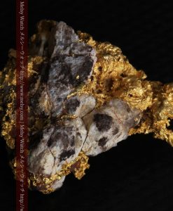 19.66gの石の入り方が綺麗な大きなサイズの自然金-g0246-10