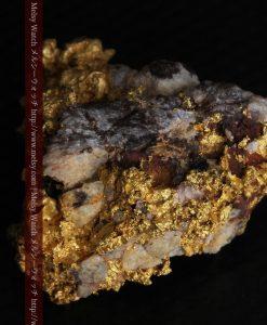 19.66gの石の入り方が綺麗な大きなサイズの自然金-g0246-11