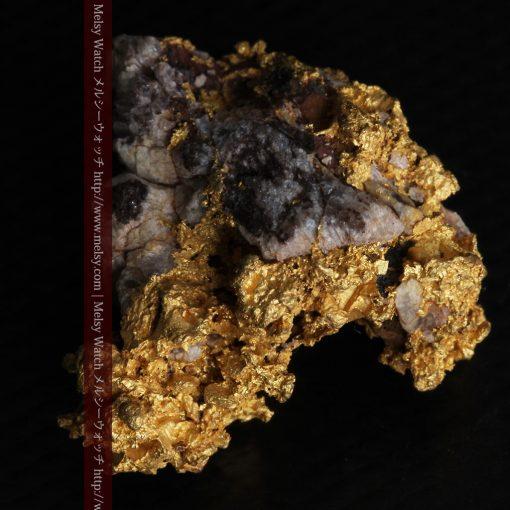 19.66gの石の入り方が綺麗な大きなサイズの自然金-g0246-12