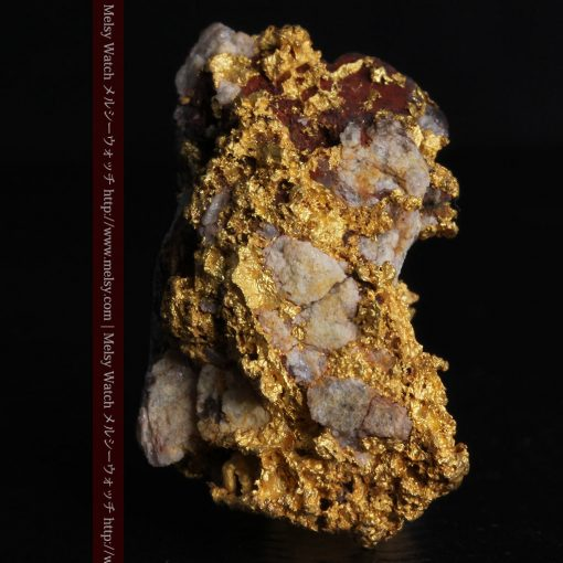 19.66gの石の入り方が綺麗な大きなサイズの自然金-g0246-3