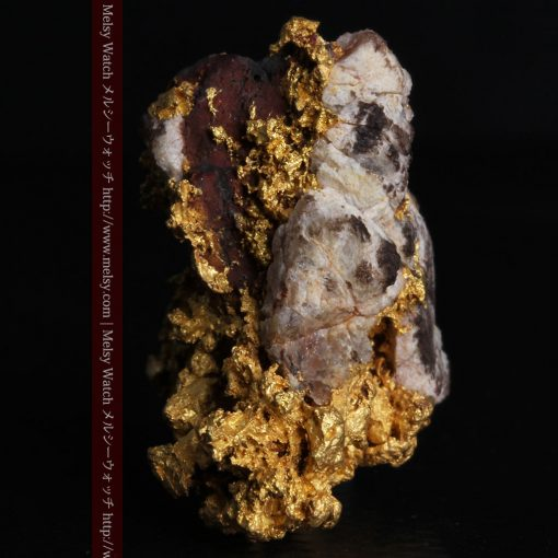 19.66gの石の入り方が綺麗な大きなサイズの自然金-g0246-4