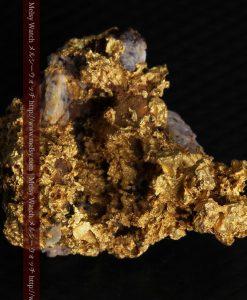 19.66gの石の入り方が綺麗な大きなサイズの自然金-g0246-5