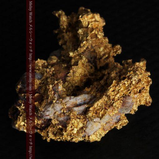 19.66gの石の入り方が綺麗な大きなサイズの自然金-g0246-6