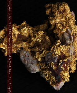 19.66gの石の入り方が綺麗な大きなサイズの自然金-g0246-7