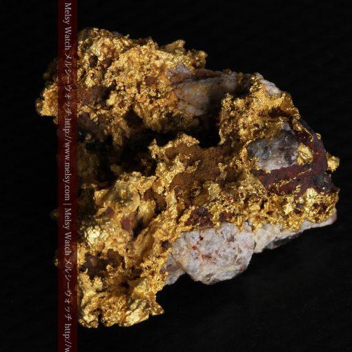 19.66gの石の入り方が綺麗な大きなサイズの自然金-g0246-8