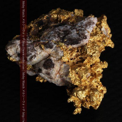 19.66gの石の入り方が綺麗な大きなサイズの自然金-g0246-9