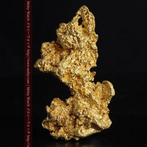 14.4gの縦長のとても面の大きな自然金-g0247-1