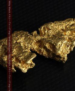 14.4gの縦長のとても面の大きな自然金-g0247-10
