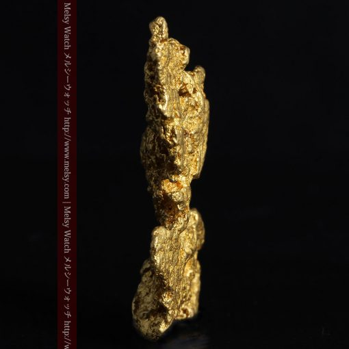 14.4gの縦長のとても面の大きな自然金-g0247-3