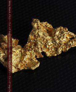 14.4gの縦長のとても面の大きな自然金-g0247-5