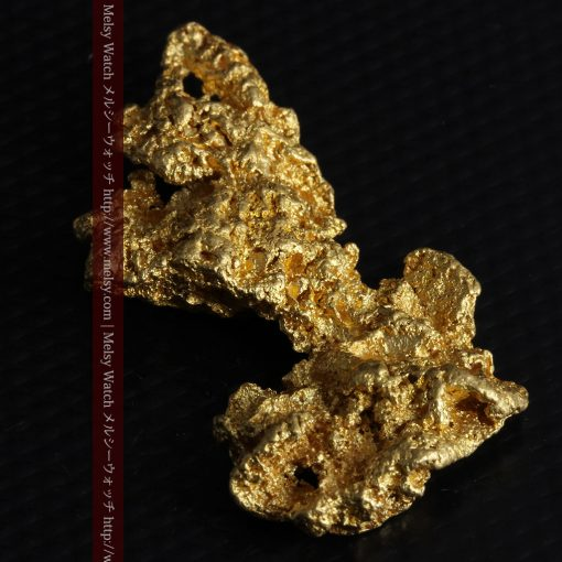 14.4gの縦長のとても面の大きな自然金-g0247-6