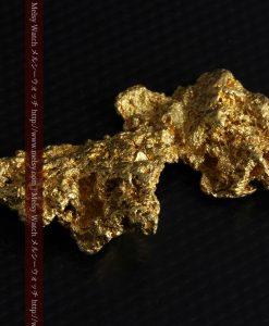 14.4gの縦長のとても面の大きな自然金-g0247-7